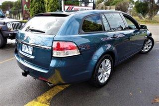 2009 Holden Calais VE MY10 Sportwagon Blue 6 Speed Sports Automatic Wagon.