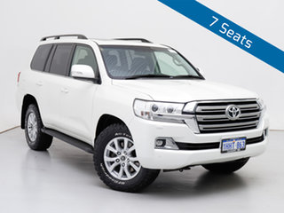 2018 Toyota Landcruiser VDJ200R MY16 VX (4x4) White 6 Speed Automatic Wagon.