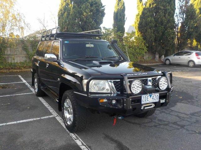 Used Nissan Patrol GU VI ST (4x4) Newtown, 2008 Nissan Patrol GU VI ST (4x4) Black 4 Speed Automatic Wagon