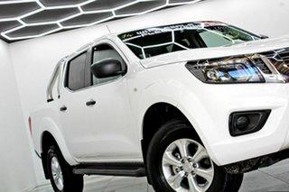2020 Nissan Navara D23 MY21 SL (4x4) White 7 Speed Automated Manual Dual Cab Pick-up.