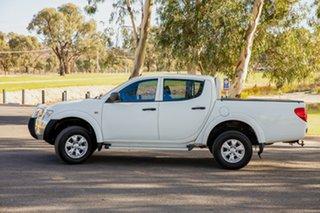 2014 Mitsubishi Triton MN MY15 GLX (4x4) White 4 Speed Automatic 4x4 Double Cab Utility.