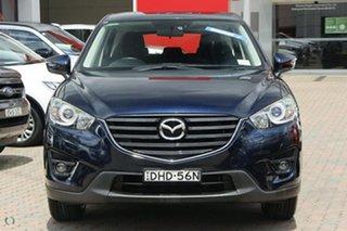 2016 Mazda CX-5 KE1032 Maxx SKYACTIV-Drive i-ACTIV AWD Sport Blue 6 Speed Sports Automatic Wagon.