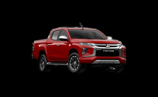Demo Mitsubishi Triton MR MY21 GLS Double Cab Hamilton, 2021 Mitsubishi Triton MR MY21 GLS Double Cab Red Solid 6 Speed Sports Automatic Utility