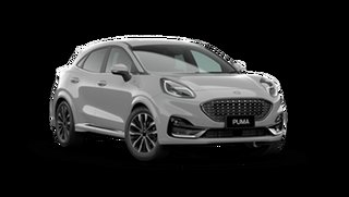 2021 Ford Puma JK 2021.25MY ST-Line V Solar Silver 7 Speed Sports Automatic Dual Clutch Wagon.