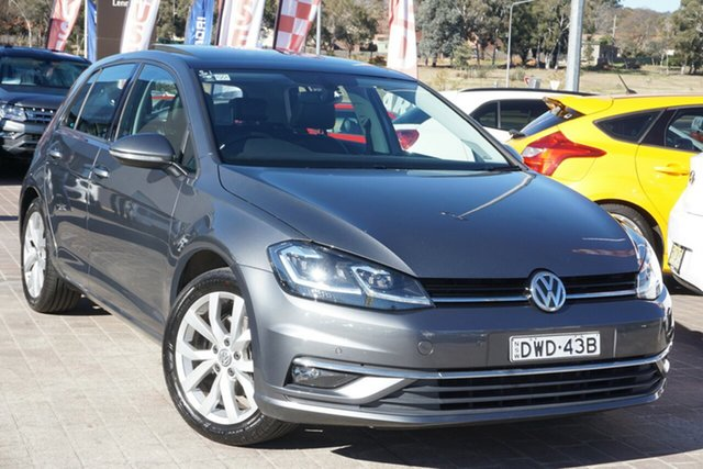 Used Volkswagen Golf VII MY17 110TSI DSG Highline Phillip, 2017 Volkswagen Golf VII MY17 110TSI DSG Highline Grey 7 Speed Sports Automatic Dual Clutch