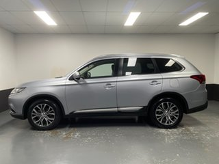 2016 Mitsubishi Outlander ZK MY16 LS 4WD Silver 6 Speed Constant Variable Wagon