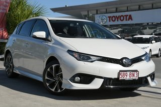 2016 Toyota Corolla ZRE182R ZR S-CVT Crystal Pearl 7 Speed Constant Variable Hatchback.