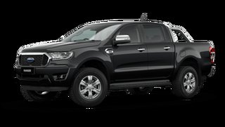 2021 Ford Ranger PX MkIII 2021.25MY XLT Shadow Black 6 Speed Manual Double Cab Pick Up