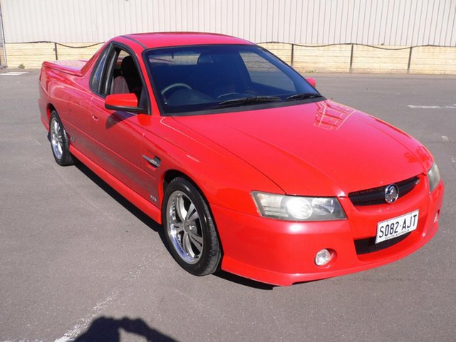 Used Holden Commodore VZ SS St Marys, 2006 Holden Commodore VZ SS Red 4 Speed Automatic Utility