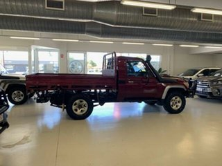 2017 Toyota Landcruiser VDJ79R GX (4x4) Red 5 Speed Manual Cab Chassis
