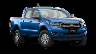 2021 Ford Ranger PX MkIII 2021.25MY XLS Blue Lightning 6 Speed Sports Automatic Double Cab Pick Up.