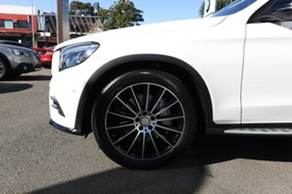 2016 Mercedes-Benz GLC250 253 MY17 Polar White 9 Speed Automatic G-Tronic Coupe.
