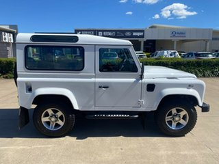 2014 Land Rover Defender 90 15MY White/060315 6 Speed Manual Wagon.