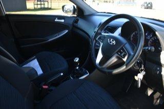 2016 Hyundai Accent RB4 MY16 SR White 6 Speed Manual Hatchback