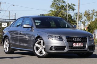 2011 Audi A4 B8 8K MY11 Multitronic Monsoon Grey 8 Speed Constant Variable Sedan.