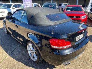 2009 BMW 125i E88 125i Black Sapphire 6 Speed Manual Convertible.