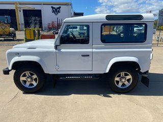 2014 Land Rover Defender 90 15MY White/060315 6 Speed Manual Wagon