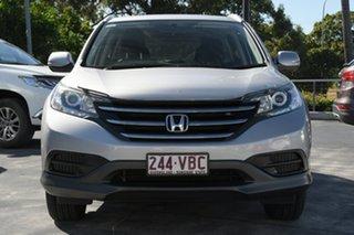 2013 Honda CR-V RM MY14 VTi 4WD Silver 5 Speed Sports Automatic Wagon