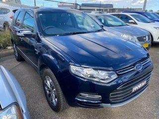 2014 Ford Territory SZ Titanium Seq Sport Shift Blue 6 Speed Sports Automatic Wagon.