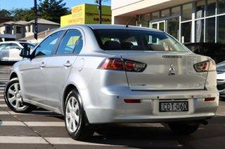 2011 Mitsubishi Lancer CJ MY12 ES Silver 6 Speed Constant Variable Sedan.