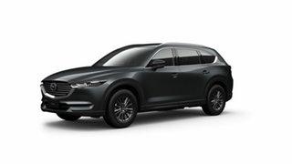 2021 Mazda CX-8 KG4W2A Sport SKYACTIV-Drive i-ACTIV AWD Grey 6 Speed Sports Automatic Wagon