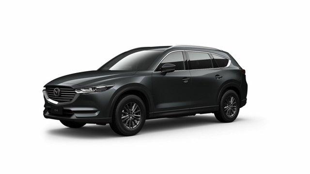 Demo Mazda CX-8 KG4W2A Sport SKYACTIV-Drive i-ACTIV AWD Toowoomba, 2021 Mazda CX-8 KG4W2A Sport SKYACTIV-Drive i-ACTIV AWD Grey 6 Speed Sports Automatic Wagon