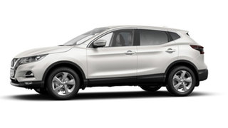 2020 Nissan Qashqai J11 Series 3 MY20 ST+ X-tronic Ivory Pearl 1 Speed Constant Variable Wagon