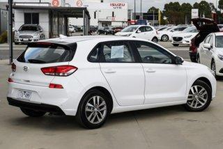 2018 Hyundai i30 PD Active White 6 Speed Sports Automatic Hatchback.