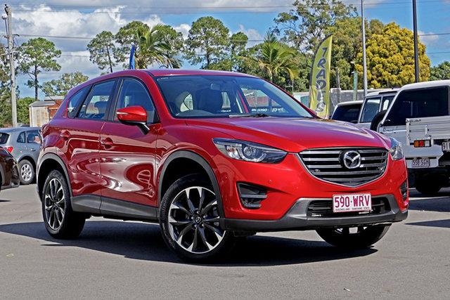 Used Mazda CX-5 KE1022 Grand Touring SKYACTIV-Drive AWD Chandler, 2015 Mazda CX-5 KE1022 Grand Touring SKYACTIV-Drive AWD Red 6 Speed Sports Automatic Wagon