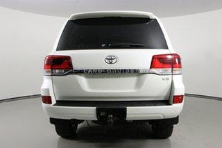 2018 Toyota Landcruiser VDJ200R MY16 VX (4x4) Crystal Pearl 6 Speed Automatic Wagon