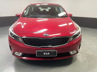 2016 Kia Cerato YD MY17 S Red 6 Speed Sports Automatic Hatchback.