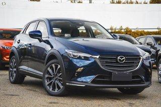 2021 Mazda CX-3 DK2W7A sTouring SKYACTIV-Drive FWD Blue 6 Speed Sports Automatic Wagon.