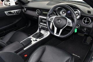 2014 Mercedes-Benz SLK-Class R172 SLK250 7G-Tronic + White 7 Speed Sports Automatic Roadster