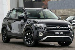 2021 Volkswagen T-Cross C1 MY21 85TSI DSG FWD Life Black 7 Speed Sports Automatic Dual Clutch Wagon.