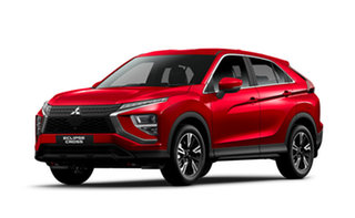 2020 Mitsubishi Eclipse Cross YB MY21 ES 2WD Red Diamond 8 Speed Constant Variable Wagon.