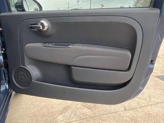 2013 Fiat 500 Series 1 Lounge Dualogic Blue 5 Speed Sports Automatic Single Clutch Hatchback