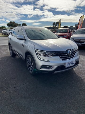 Used Renault Koleos HZG Initiale X-tronic Warrnambool East, 2018 Renault Koleos HZG Initiale X-tronic Silver 1 Speed Constant Variable Wagon