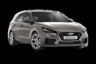 2021 Hyundai i30 PD.V4 MY21 N Line Premium Fluid Metal 6 Speed Manual Hatchback