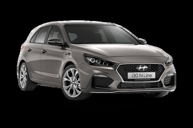 New Hyundai i30 PD.V4 MY21 N Line Premium Hamilton, 2021 Hyundai i30 PD.V4 MY21 N Line Premium Fluid Metal 6 Speed Manual Hatchback