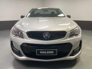 2016 Holden Ute VF II MY16 SV6 Ute Black Silver 6 Speed Sports Automatic Utility.
