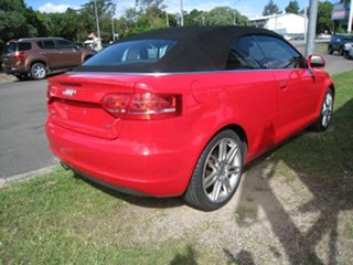 2009 Audi A3 8P 2.0 TFSI Ambition Red 6 Speed Direct Shift Cabriolet