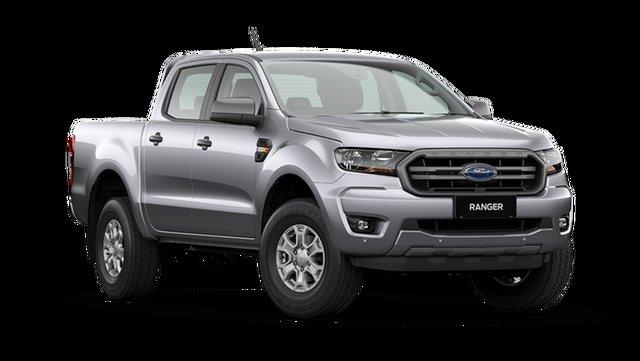 New Ford Ranger XLS Hamilton, 2021 Ford Ranger PX MkIII XLS Aluminium Silver 6 Speed Automatic Pick Up
