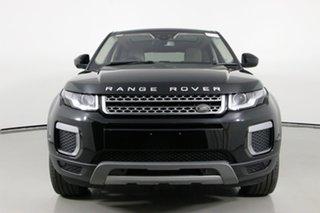 2016 Land Rover Range Rover Evoque LV MY17 TD4 150 SE Santorini Black 9 Speed Automatic Wagon.