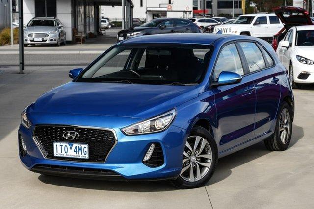 Used Hyundai i30 PD MY18 Active Pakenham, 2018 Hyundai i30 PD MY18 Active Blue 6 Speed Sports Automatic Hatchback