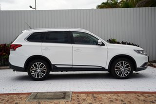 2016 Mitsubishi Outlander ZK MY16 XLS 4WD White 6 Speed Sports Automatic Wagon.
