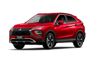 2021 Mitsubishi Eclipse Cross YB MY21 LS AWD Red Diamond 8 Speed Constant Variable Wagon.