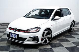 2019 Volkswagen Golf 7.5 MY19.5 GTI DSG White 7 Speed Sports Automatic Dual Clutch Hatchback.