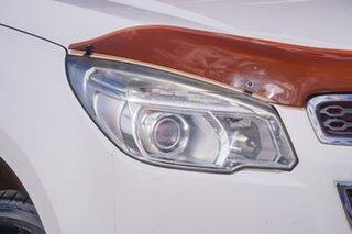 2014 Holden Colorado RG MY14 LTZ Crew Cab White 6 Speed Sports Automatic Utility.