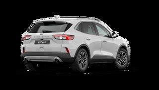 2021 Ford Escape ZH 2021.25MY Frozen White 8 Speed Sports Automatic SUV.