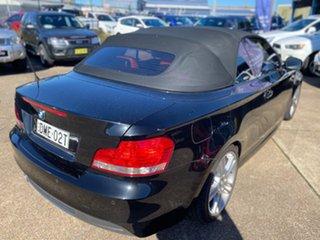 2009 BMW 125i E88 125i Black Sapphire 6 Speed Manual Convertible